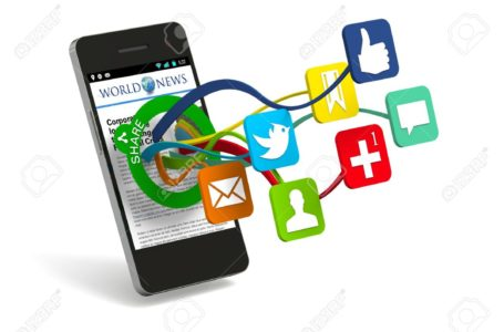 Social Media Mobile Devices and Applications
