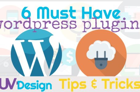 6 WordPress Plugins That You Need