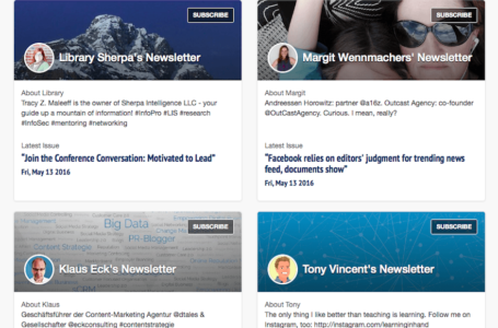 Newsletters or Email or News Feeds – Which is Better?