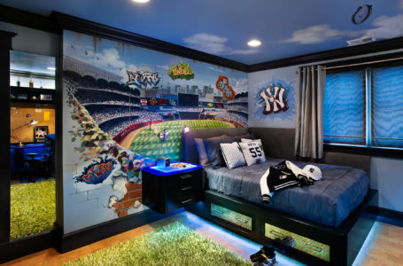 Decorating a Sports-Themed Living Room