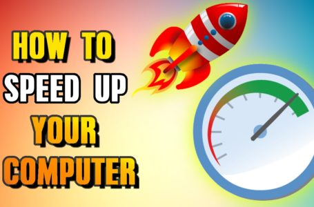 Speed Up Computer Tips