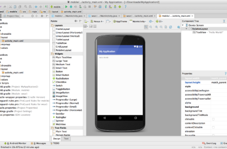Free Android Application Development Project Also Needs A Good Resource