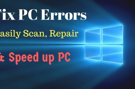 Fix Your Computer Errors Easily