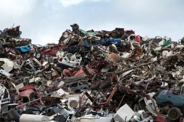 Automobiles Filling Up Junk Yards and Landfills