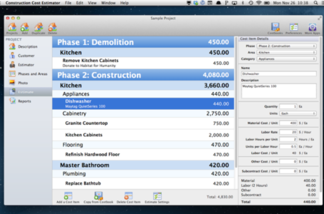 Review of Takeoff Software for Estimating Construction